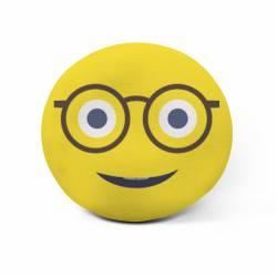 Cojín emoji personalizado (gafas)