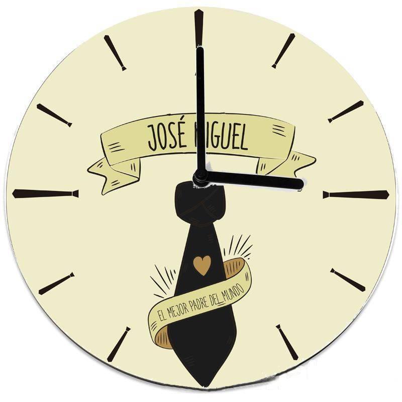 Reloj personalizado para un padre