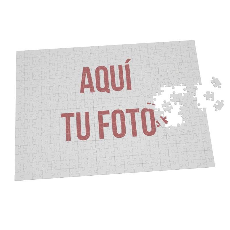 Puzzle personalizado con foto - Varios tamaños