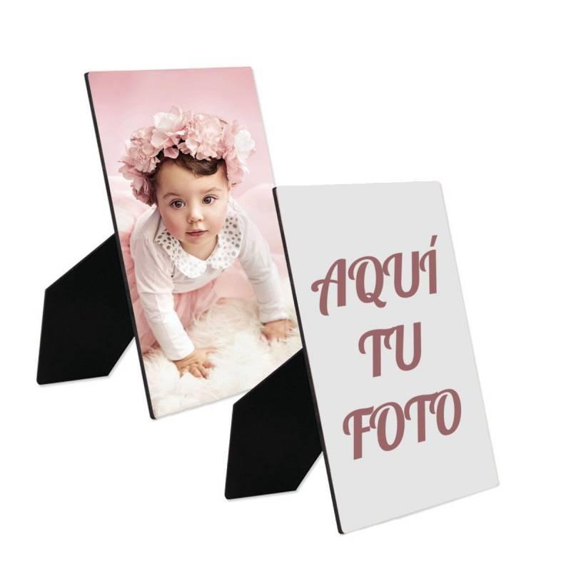 Portafotos personalizado con foto sin marco