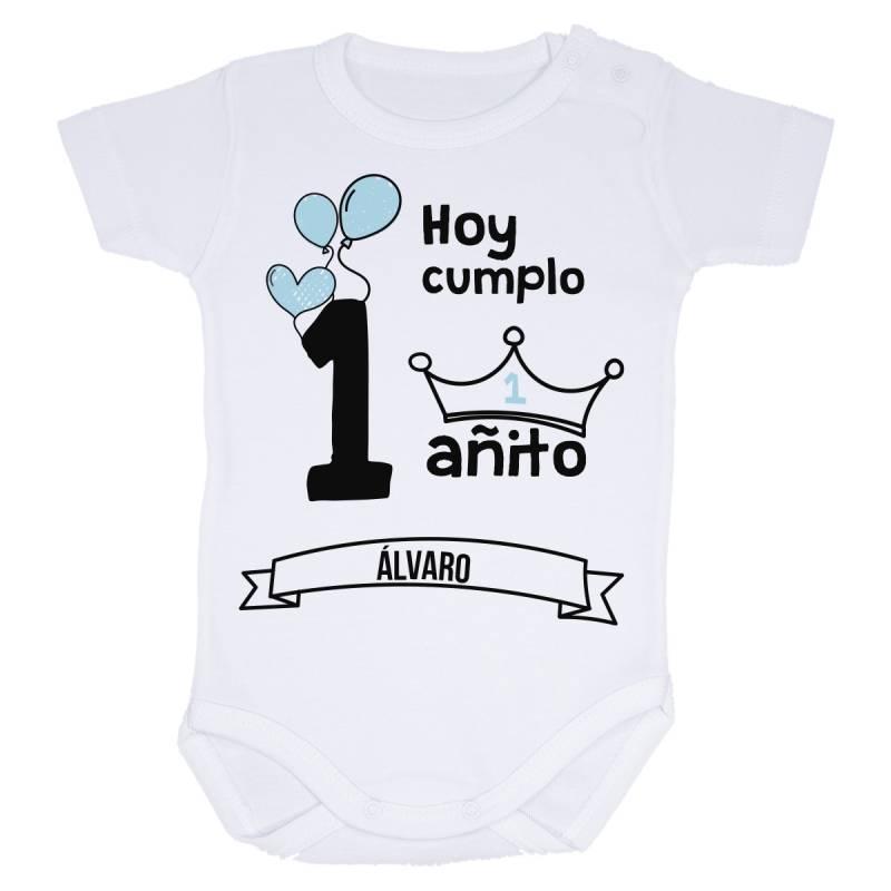 Body bebé primer cumpleaños niño