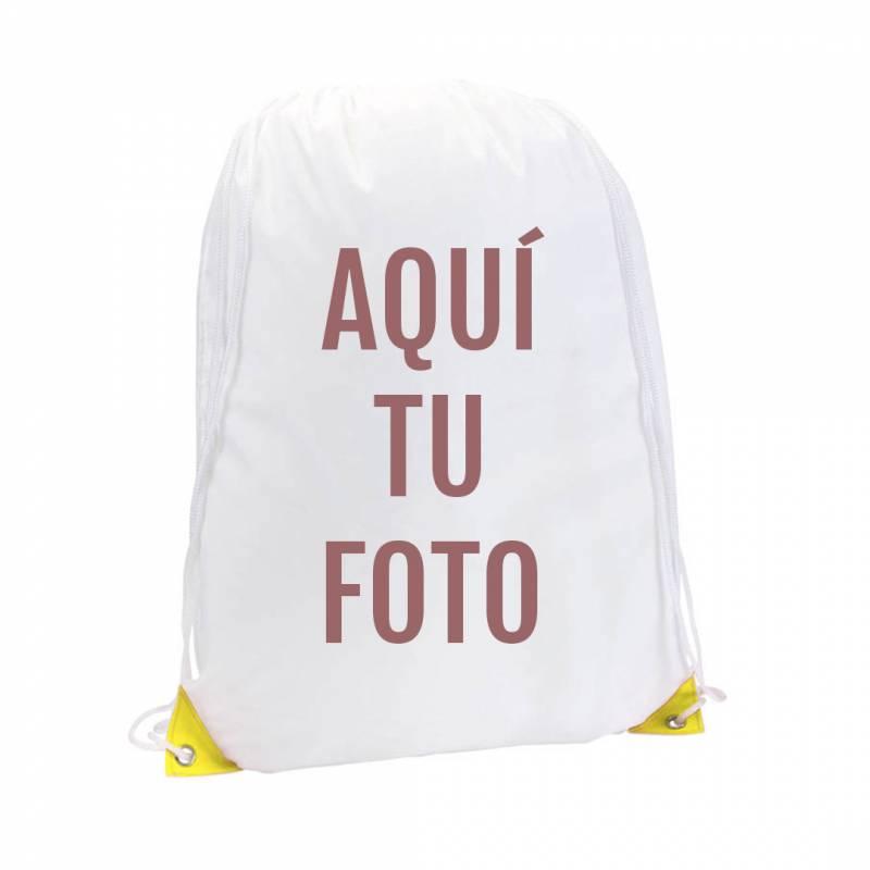 Mochila saco personalizada con foto