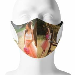 Mascarilla personalizada con foto´- Simulación mascarilla