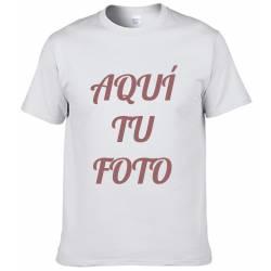 Camiseta para adulto personalizada con foto - Tacto algodón