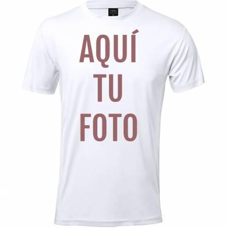 Camiseta adulto técnica Layom personalizada con foto