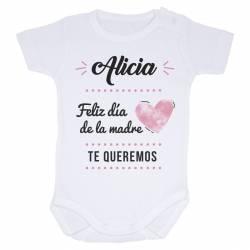 """Body bebé personalizado """"Día de la madre"""""""