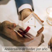 Aniversario de bodas por año