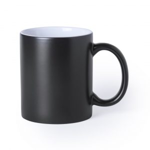 taza magica color negro