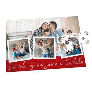 Puzzle personalizado con fotos en forma de collage