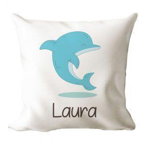 Cojín personalizado delfín 🐬