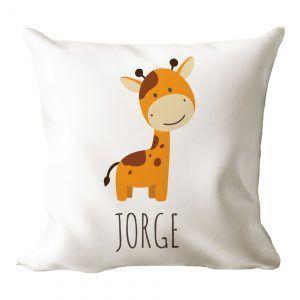 Cojín personalizado jirafa 🦒