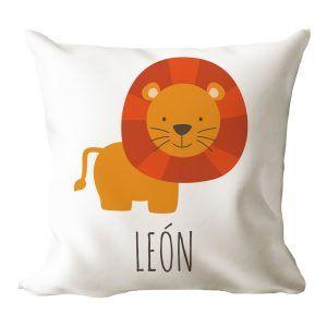 Cojín personalizado león 🦁