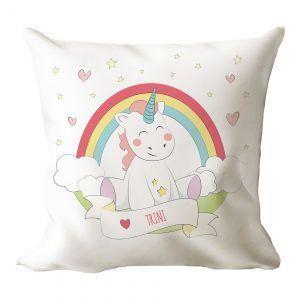 Cojín personalizado unicornio 🦄