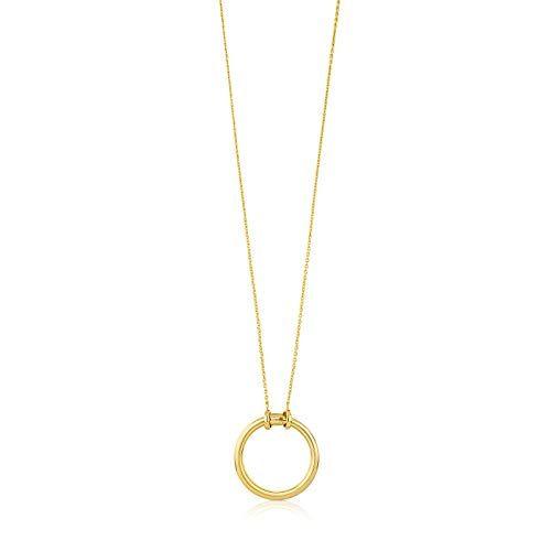 Collar con colgante de oro, marca TOUS.